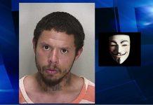 ocala news, weird news, stupid news, anonymous, v for vendetta