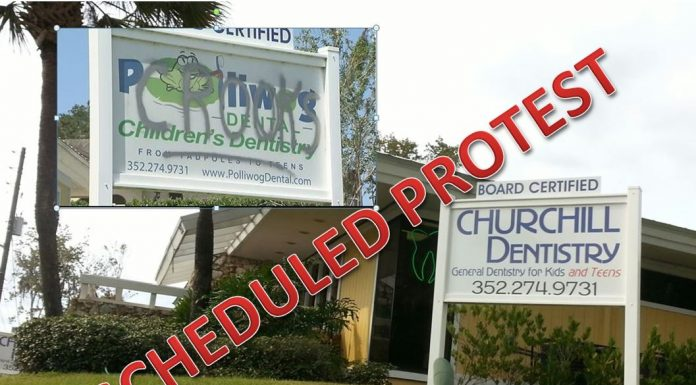 Churchill Dentistry, LLC., formerly Polliwog Dental, LLC, ocala news, child abuse, dentist ocala