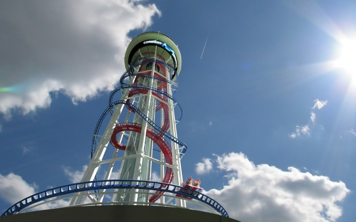Video: Tallest roller coaster being built in Orlando