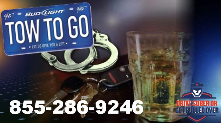 FHP: Drive Sober or Get Pulled Over — Call Tow To Go