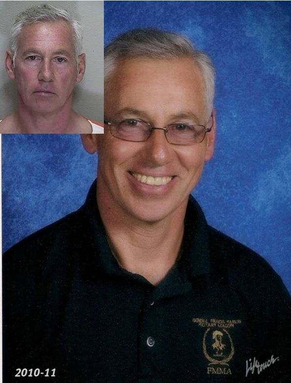 Francis Marion Military Academy instructor, Duane Adams, ocala news, marion county, sexual predator, teacher,