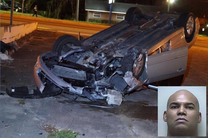 Ocala man crashed car after he was shot