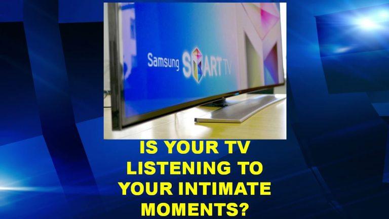 Samsung SmartTV listening to your conversation?