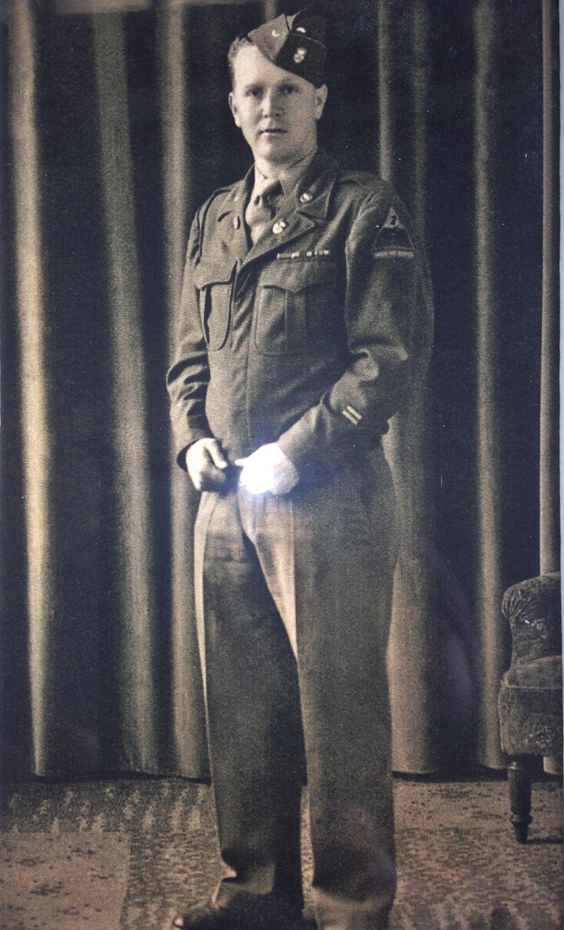 ocala news, world war II, purple heart