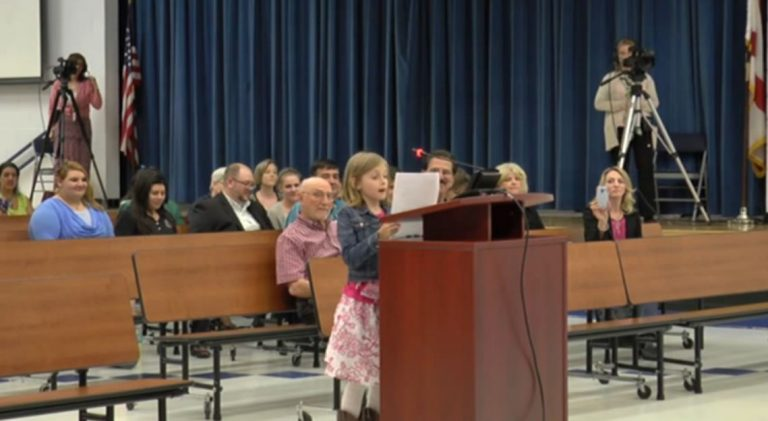 Fourth-grader puts school board in its place about FSA testing