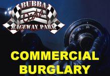 bubba raceway park, ocala news, burglary, safe stolen,