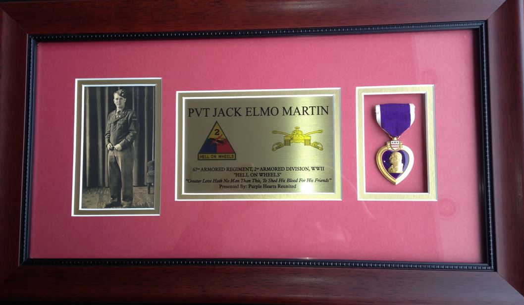 world war II, purple heart, ocala news