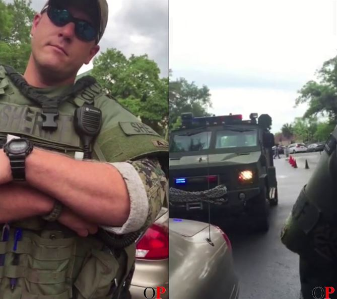 Investigation: Driver gives deputies middle finger; gets pulled over by military-type armored vehicle
