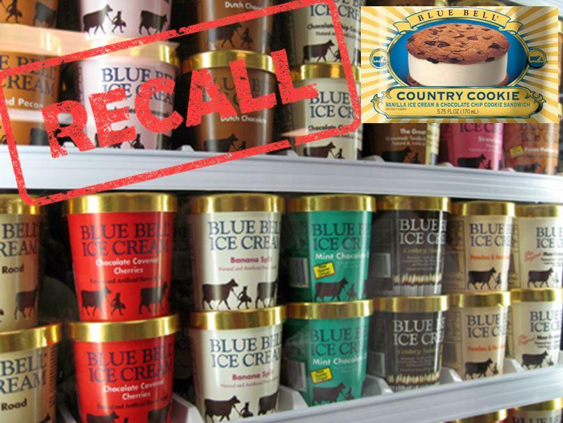 blue bell recall, ocala news, blue bell ice cream, health