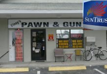 suntrust bank closing accounts, suntrust anti gun, ocala news, marion county, operation choke ppoint