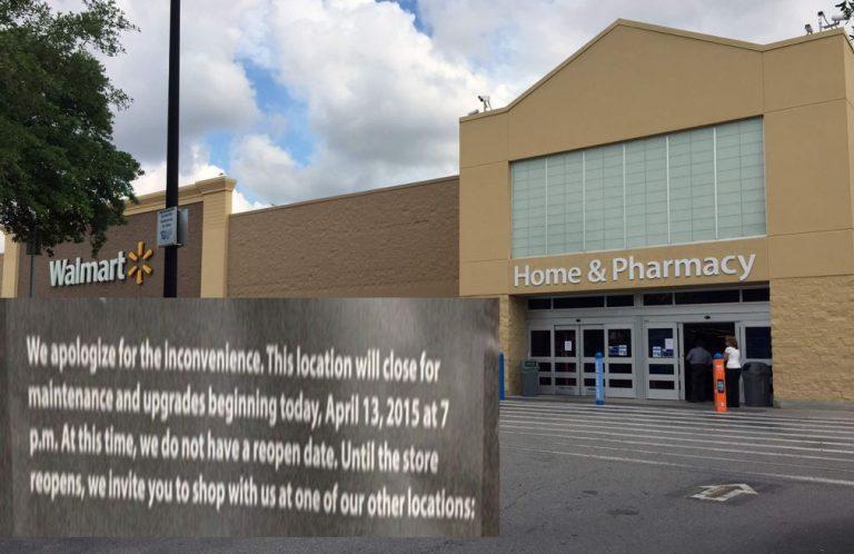Officials: Walmart closing is very suspicious
