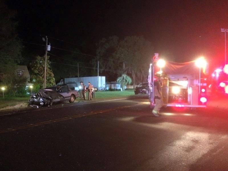 marion county fire rescue,  ocala news, semi crash, truck driver, flroida, marion county news