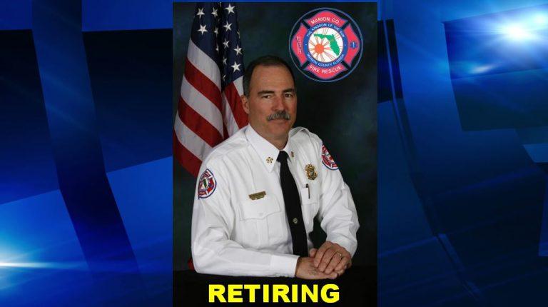 Marion County Fire Rescue fire chief announces retirement