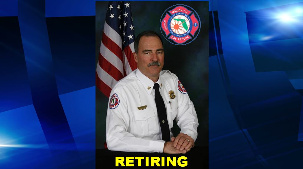Fire Chief M. Stuart McElhaney, ocala news, marion county, fire chief, firefighters