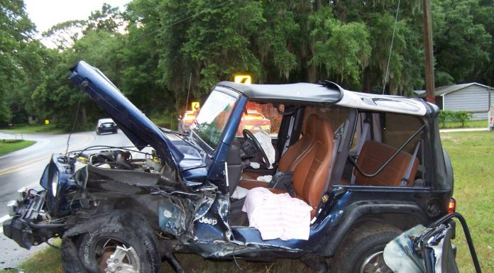 ocala news, marion county news, car accident, car crash, ocklawaha crash, jeep crash