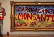 MARCH AGAINST MONSANTO, ocala news, marion county news, monsanto, GMO foods, roundup, round up, ocala post