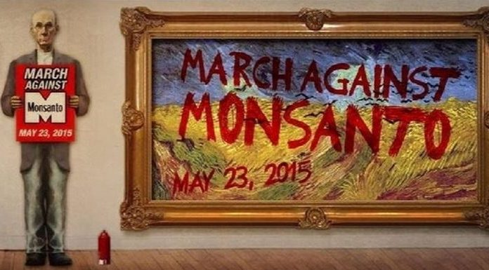 MARCH AGAINST MONSANTO, ocala news, marion county news, monsanto, GMO foods, roundup, round up, ocala post