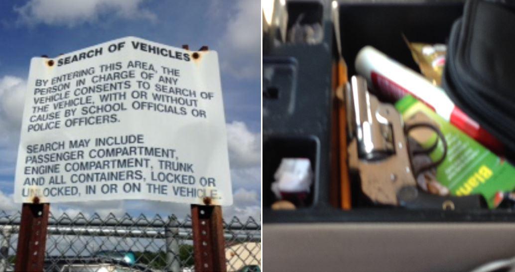 ocala news, marion county news, guns and school, gun on school property, loaded gun