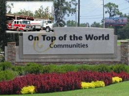 ocala news, on top of the world, marion county news, firefighters, union, florida
