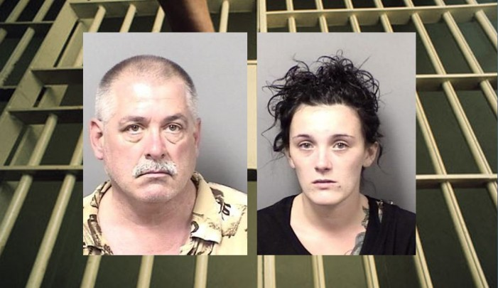 Bail bonds business owner and his girlfriend arrested