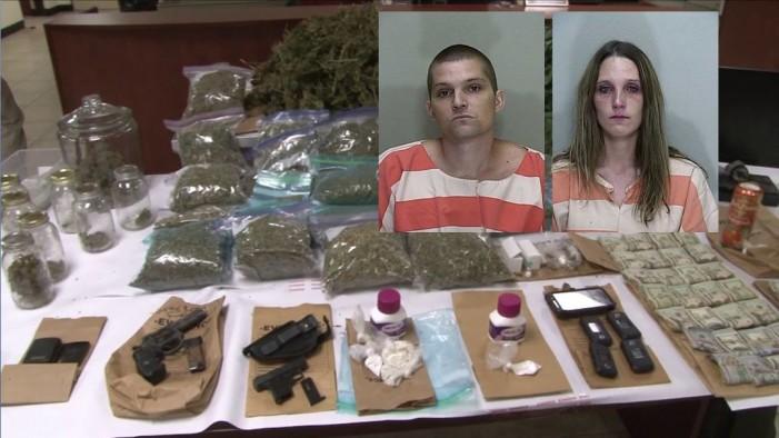 Two drug dealers arrested, drugs were in children's reach