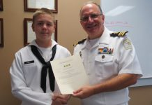 navy, seaman, ocala news, marion county news, positive news