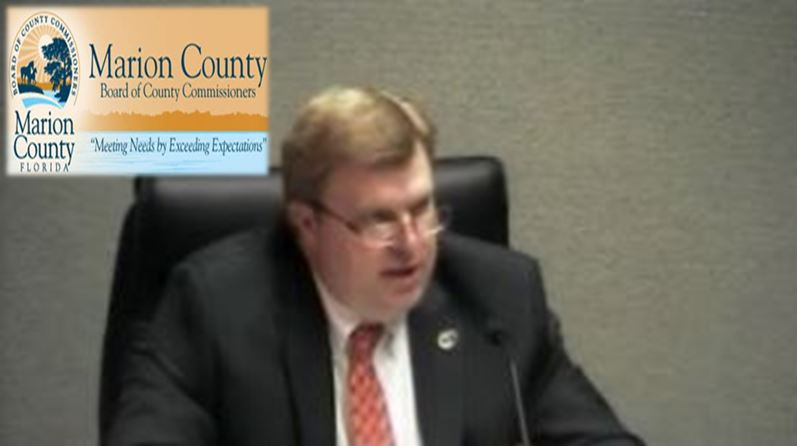 Interim Marion County Administrator Bill Kauffman , ocal anews, marion ocunty BOCC, fire chief