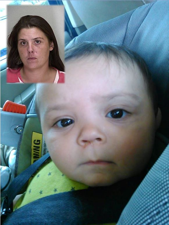 Mother charged with manslaughter in baby's death