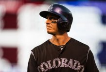 baseball, The Rockies and Blue Jays , sports, Troy Tulowitzki