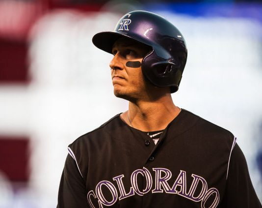 baseball, The Rockies and Blue Jays , sports, Troy Tulowitzki