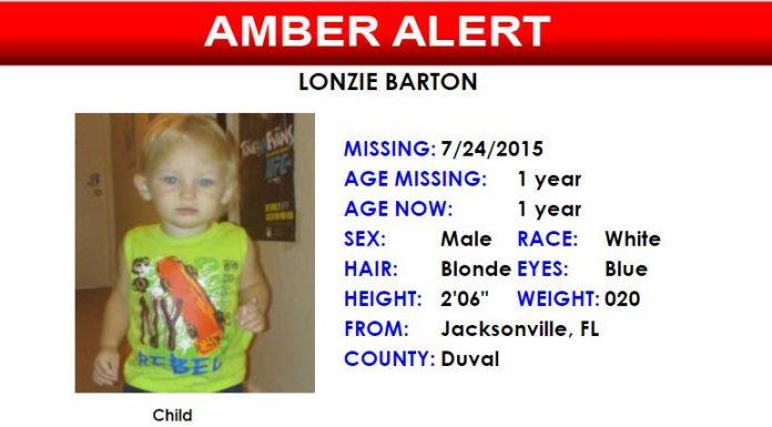 Amber Alert for Lonzie Barton, missing, jacksonville news, ocala news, amber alert
