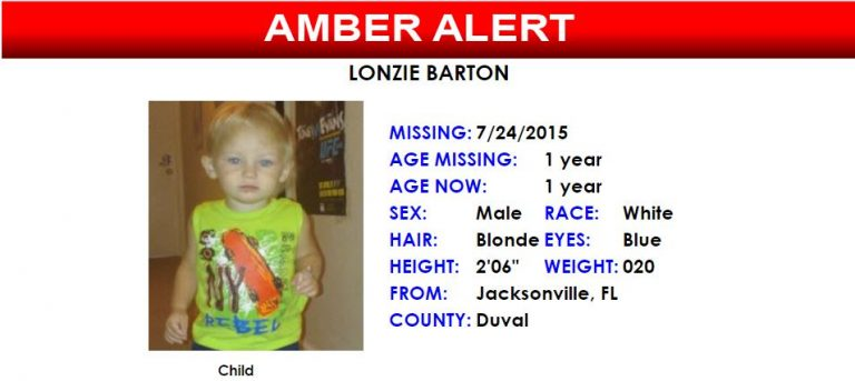 AMBER ALERT for missing toddler who was possibly kidnapped
