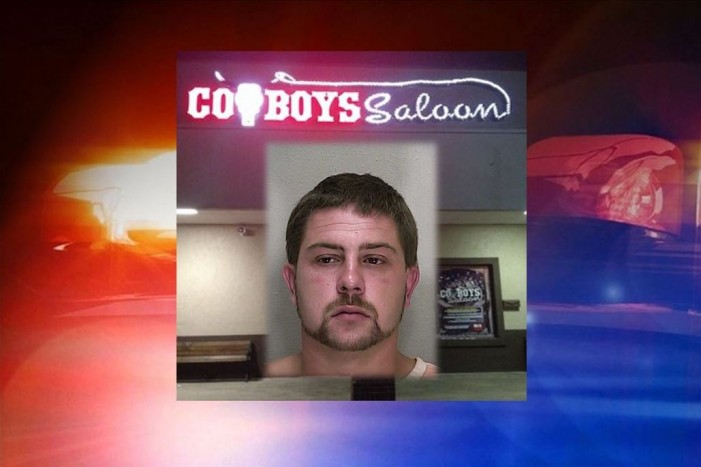 Aggravated assault outside Cowboys Saloon