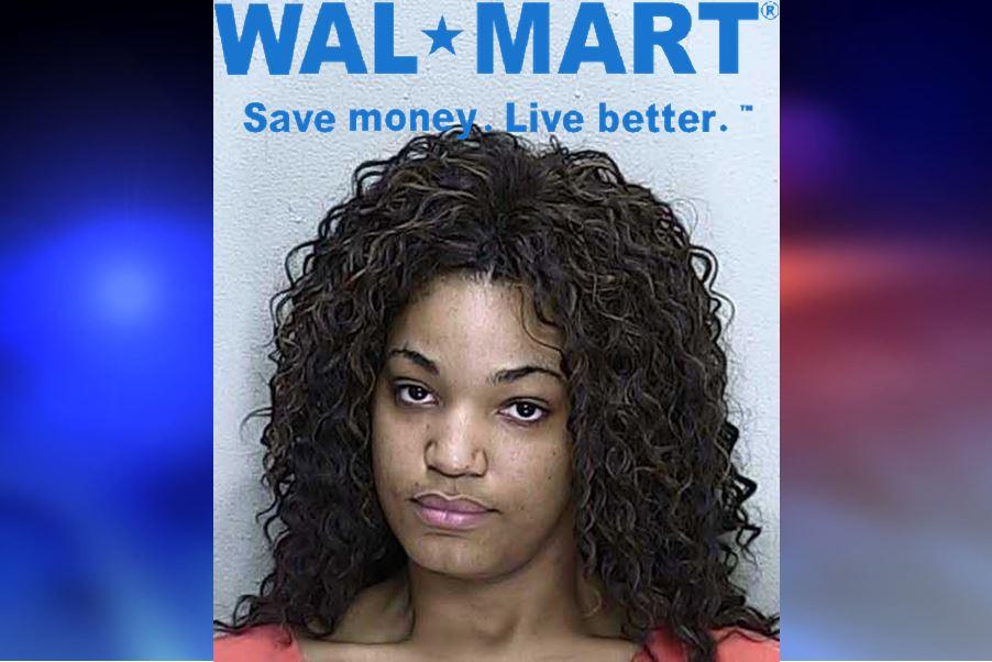walmart, theft, walmart cashier, ocala news, marion county news, grand theft