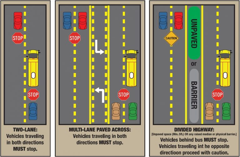 Know when to stop for school buses and school crossings in Florida