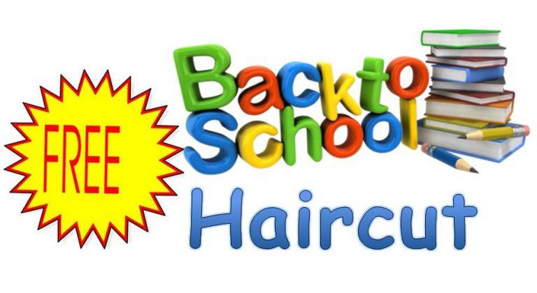 Free back to school haircut