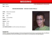 Mikanzis Shawn Spinella, missing, florida, endangered,