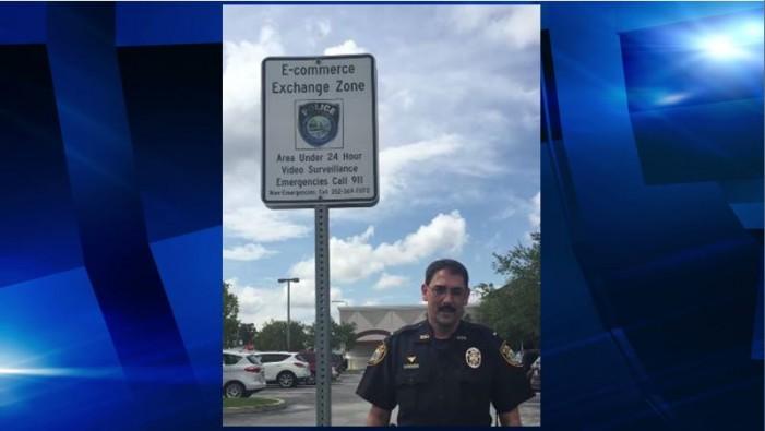 The Ocala Police Department creates safe E-commerce Exchange Zone