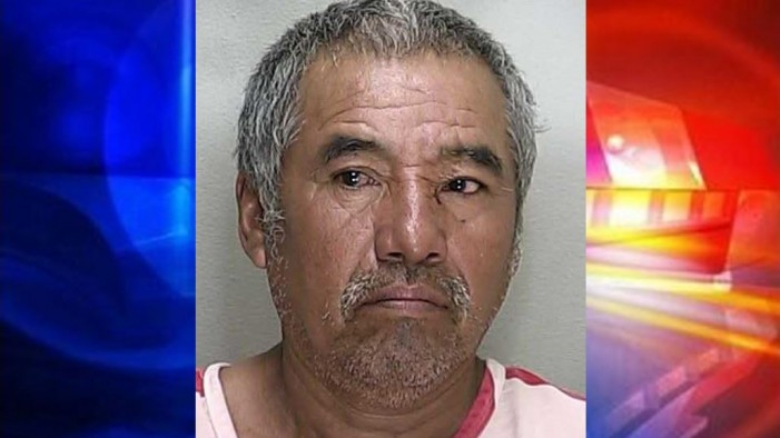 Man struck woman in face with full beer bottle