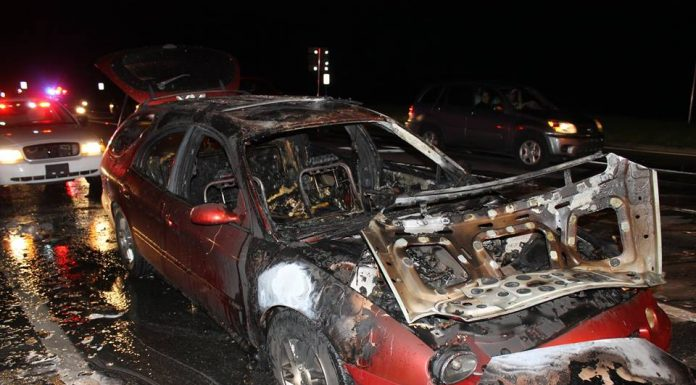 vehicle fire, ocala news, marion county news, fire, Marion county fire Rescue