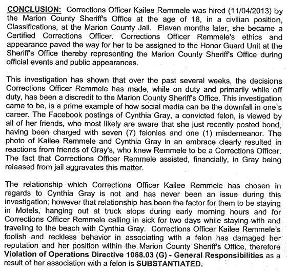 corrections officer Kailee Vernae Remmele_5