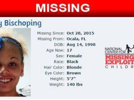 Destiny Bischoping, missing children, ocala news, marion county news, missing teen