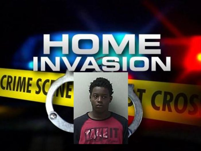 One teen arrested in home invasion robbery where a 77-year-old man was beaten