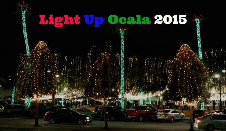 32nd Annual Light Up Ocala 2015