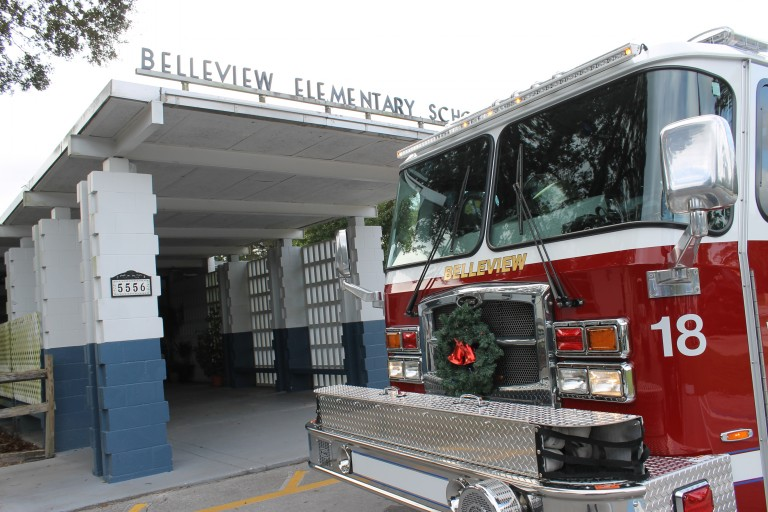 Firefighters deliver $25,000 in toys