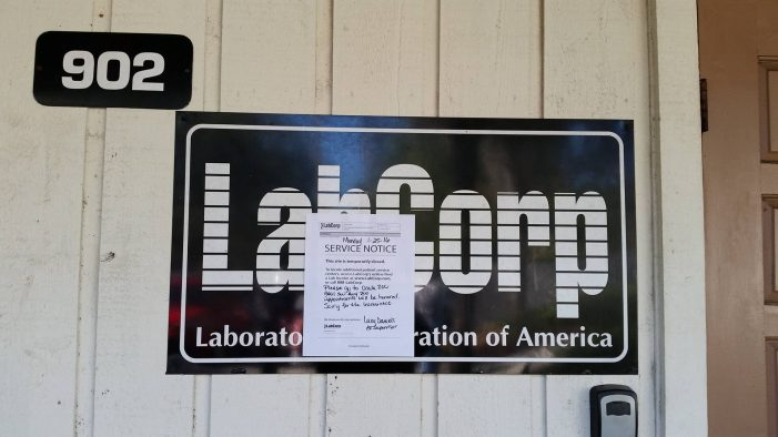 Local lab receives bomb threat, windows later shattered
