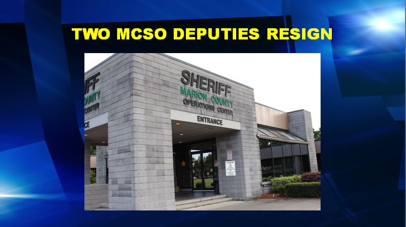 deputies resign, ocala news, marion county news, mcso, blair