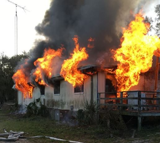 fire, house fire, ocala news, marion county news, mcfr