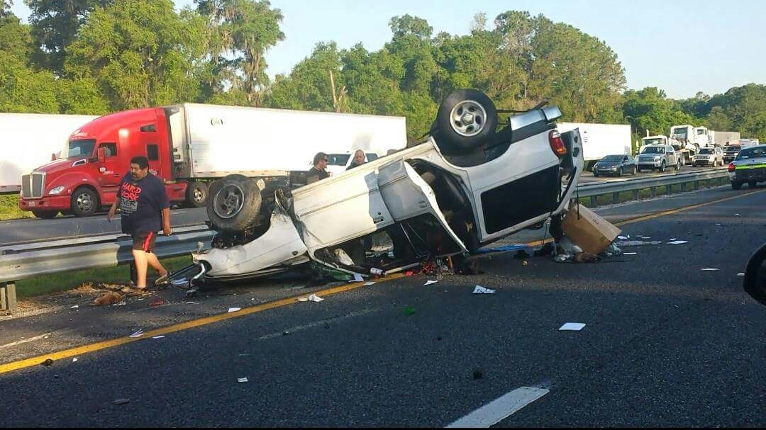 Ocala Post - One person and a dog killed, another seriously injured in I-75 crash