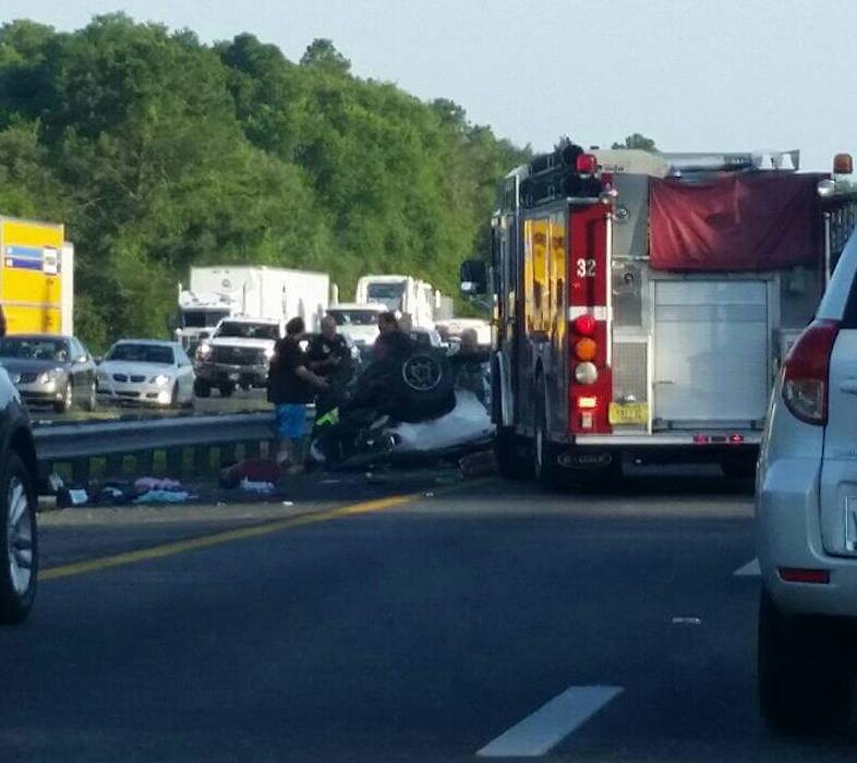 car crash, fatal crash, ocala news, OCALA I-75 ACCIDENTS NEAR EXIT 341